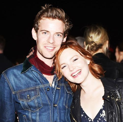 Holliday Grainger with Boyfriend Harry Treadaway